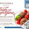 Pozvánka na předváděcí akci Fresh zmrzlina s čokoládou a ovocem