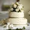 Svatební inspirace z Anglie: tradiční dort potažený marcipánem